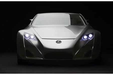 Новый концепт от Lexus в Париже