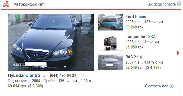 где найти конфискат автомобилей рффи: