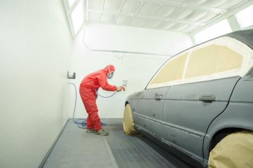 Шпаклевка покраска авто своими руками в гараже 49